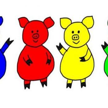 rainbow-piggies