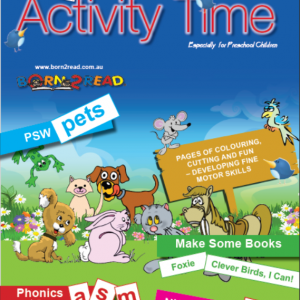 BORN2READ - ACTIVITY TIME FOR PRE-PREPPIES
